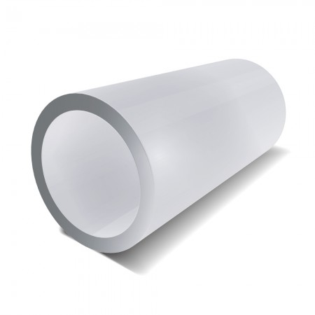 2 1/2 in x 1.5 mm - Stainless Steel Bright Polished Tube