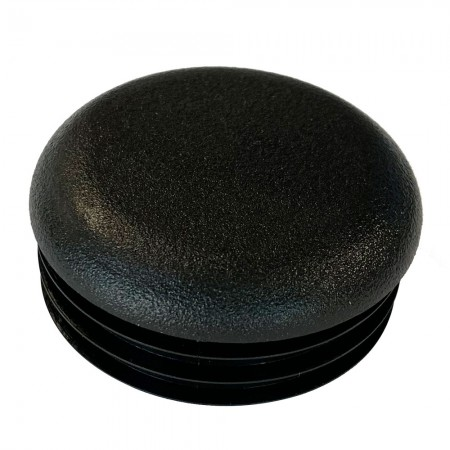 Round Tube End Cap 35 mm top
