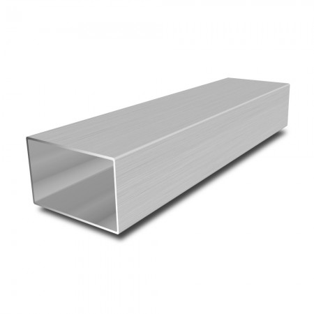 25 mm x 10 mm x 1.5 mm Stainless Steel Rectangular Tube