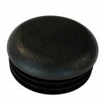 Round Tube End Cap 29 mm top